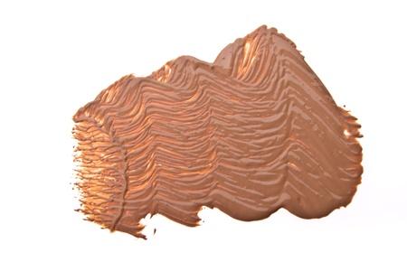makeup foundation isolated on white background Stock Photo - 13789199