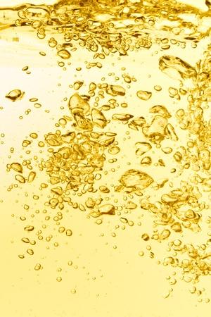 zomers drankje: oranje zomer drankje met bubbels