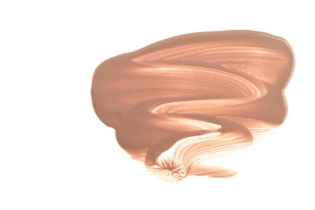 makeup foundation isolated on white background Stock Photo - 14036043