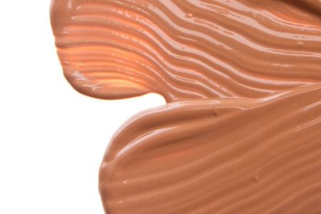 makeup foundation isolated on white background Stock Photo - 15521648