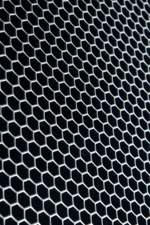 abstract metal grid background Stock Photo - 16058741