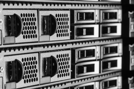 hardware in internet data center room photo