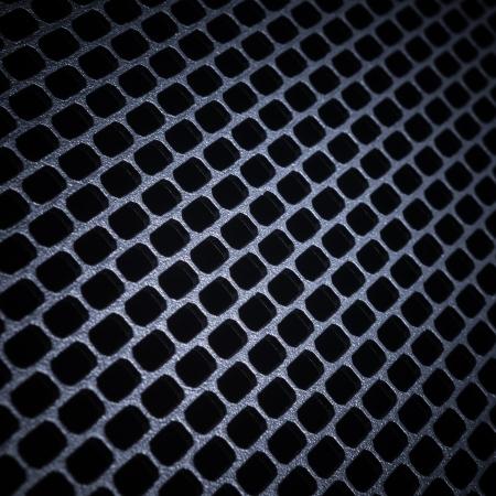 perforate: closeup of seamless  metallic grid