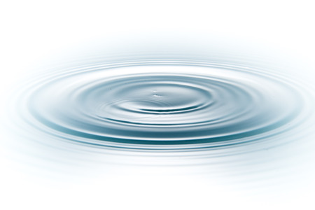 흰색 배경에 물 방울