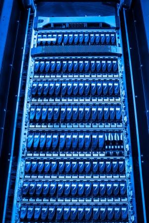 hard drives in data center Stock Photo - 24206134