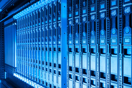 hardware in internet data center room Editorial
