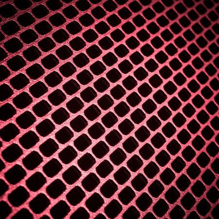 closeup of seamless  metallic grid photo