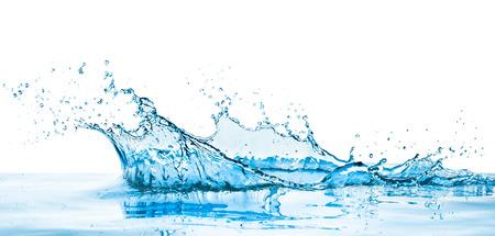 Spritzwasser mit Reflexion Standard-Bild - 33005643