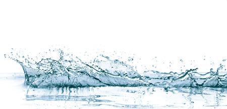 Spritzwasser isoliert auf weißem Hintergrund Standard-Bild - 35894392