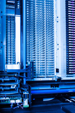 data storage tapes inside data cloud