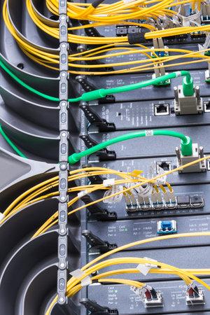 terabit internet router inside internet service provider data center