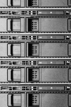 hardware in internet data center room Stok Fotoğraf