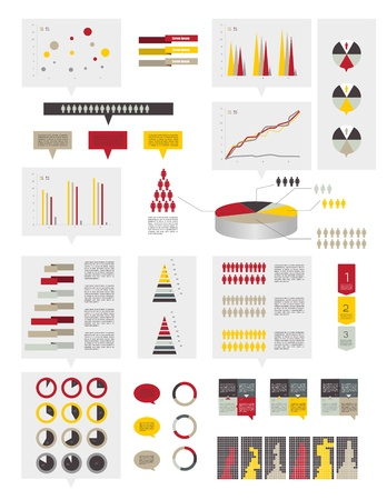 Infographics elements Stock Vector - 20193937