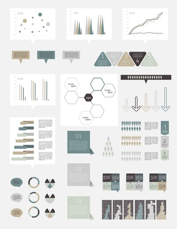 visual aid: Infographics elements