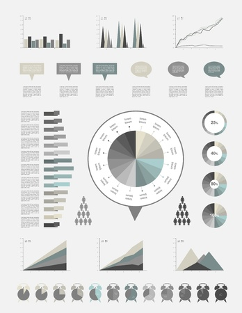 Infographics elements Stock Vector - 20193924