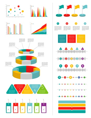 caption: Infographics elements