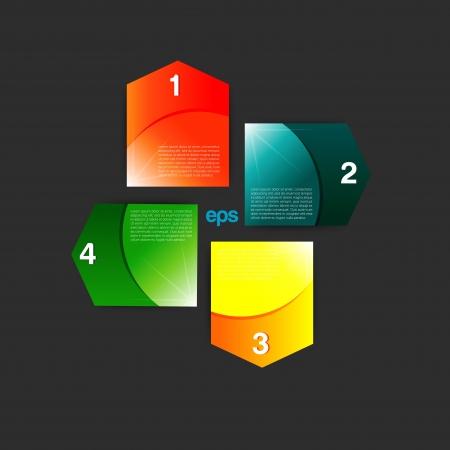 Set of Colorful Bubbles  Vector