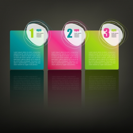 Set of Colorful Bubbles for Speech  Vector