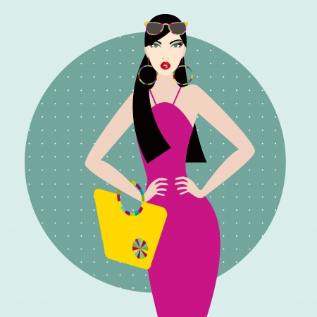 Fashion woman Stock Vector - 20331752