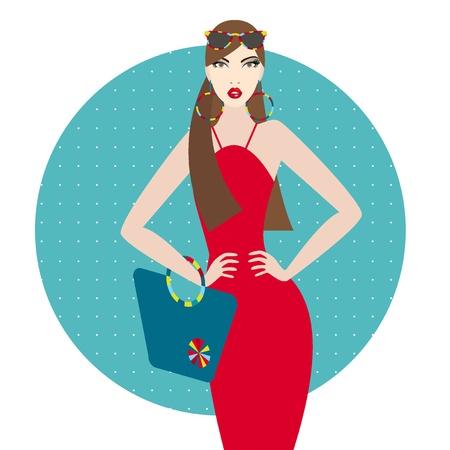 Fashion woman Stock Vector - 20331751