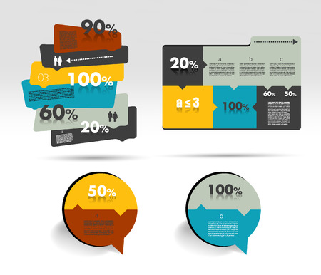 Diagram  Infographics element  Vector