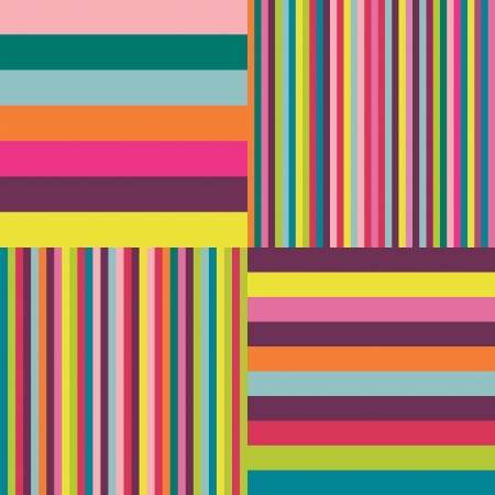 Colorful stripes background  Vector background   Vector