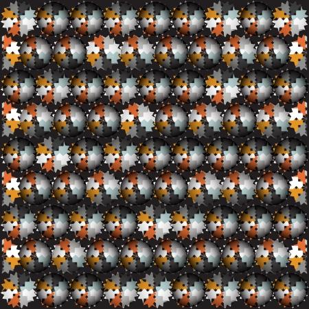 lila: Black circle pattern
