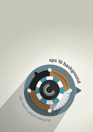 marca libros: Plantilla de presentación Infografía sobre fondo brillante negocio de diseño de portada Informe anual diagrama plana