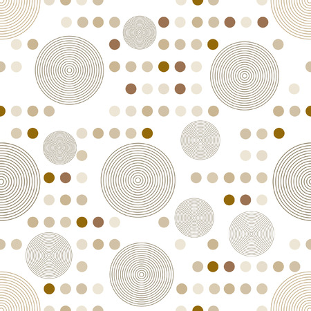 circle pattern: Circle pattern  Modern stylish texture  Repeating spiral abstract background for wallpaper   Illustration