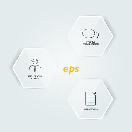 Network connected speech diagram  Minimalistic flat template  Infographic vector