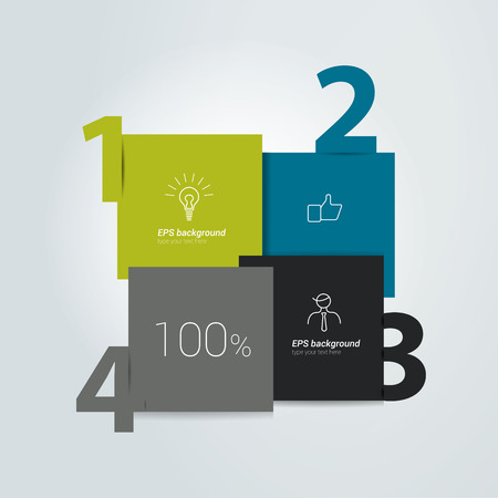 for example: Diagram for infographics. Example of speech chart. Web banner template. Illustration