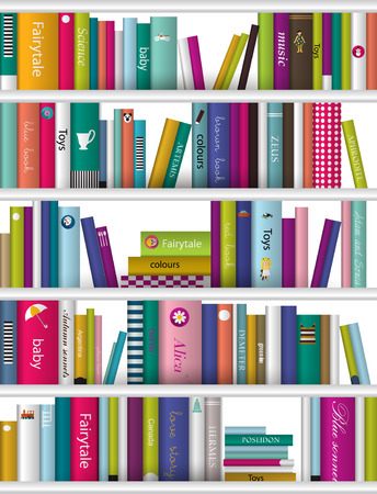 Books background Vector