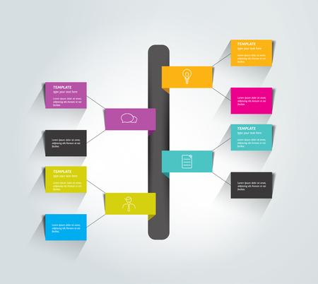 diagrama de flujo: Ficha Diagrama de flujo. Elemento Infograf�a.
