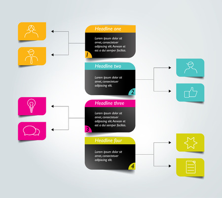 diagrama de flujo: Ficha Diagrama de flujo. Elemento Infografía.