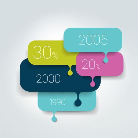 bubble speech: Speech bubble diagram, scheme. Infographic element.