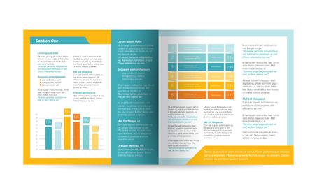 Brochure flyer newsletter annual report layout template business brochure flyer newsletter annual report layout template business background concept stock flashek Gallery
