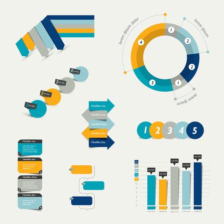 infogaphics: Infographic elements. Illustration