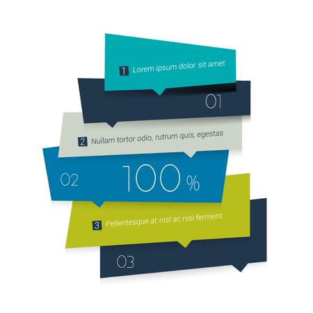 diagrama: Horario pestaña azul plantilla de banner cuadrado. Minimalista de diseño vectorial infografía. Vectores