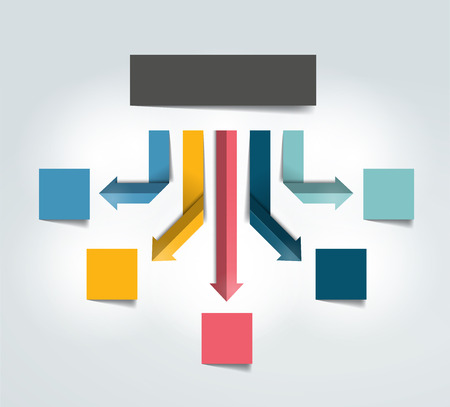 Flowchart diagram scheme. Infographic element.