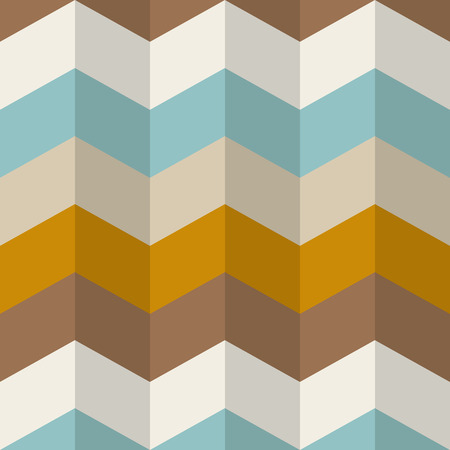 Chevron stripes seamless pattern. Zigzag vector background, wall paper. Stock Illustratie