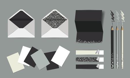 Paper Mock up. corporate identity design.