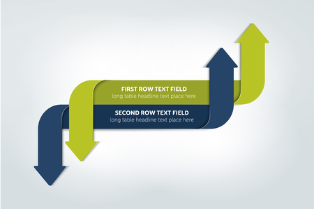 simply: Simply Arrow infographics scheme, diagram, chart, flowchart. Vector.