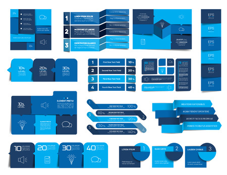 Mega set of infographics elements, schedules, tabs, banners, charts. Minimalistic vector design infographic.