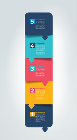 tab: Schedule, tab, banner. Minimalistic vector design infographic.