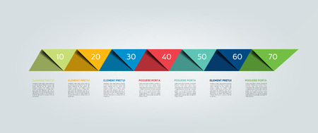 Infographic timeline report, template, chart, scheme. Vector. Illustration