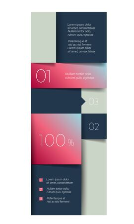Schedule, tab, banner. Minimalistic vector design infographic.