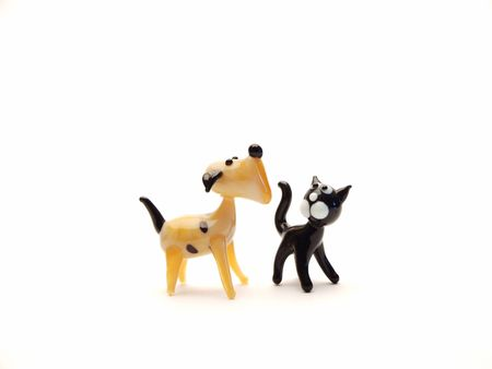 Dog and cat Stock Photo - 929953