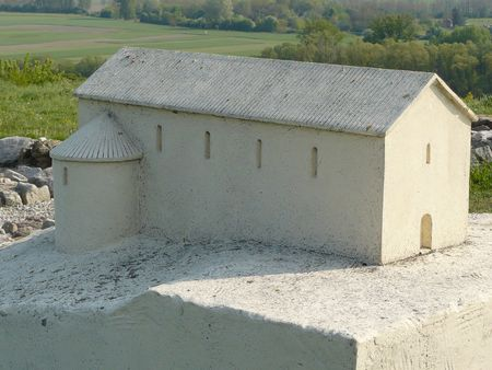 maquette: Maquette  Church on the Devin