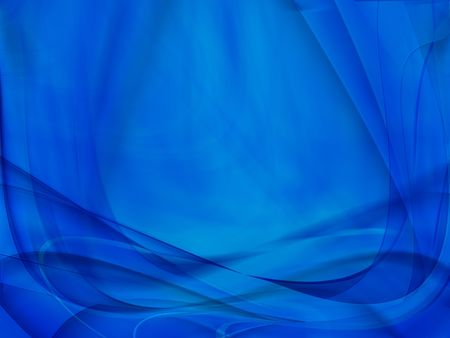 blue abstract Stock Photo - 7976653