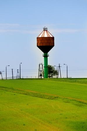 wody wieży: water tower Zdjęcie Seryjne